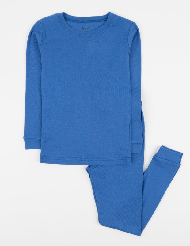 Solid Color Classic Cotton Pajamas