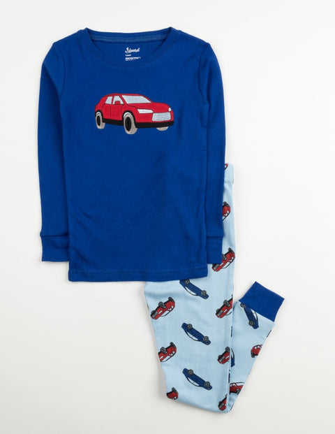Cotton Vehicles Pajamas