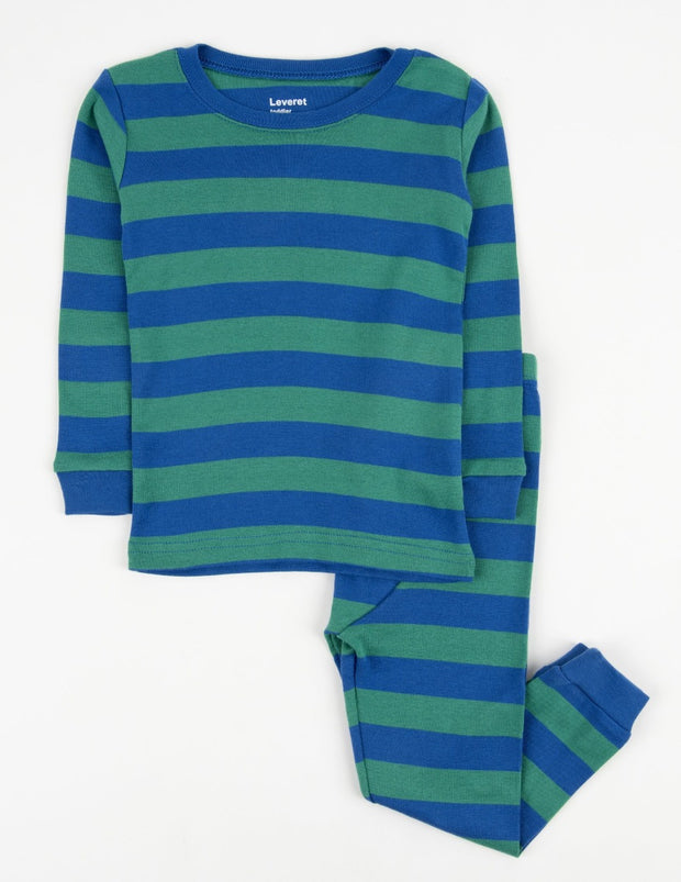 Cotton Striped Pajamas