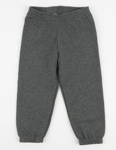 Neutral Solid Color Sweatpants
