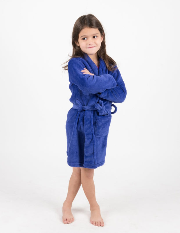 Fleece Shawl Collar Robe