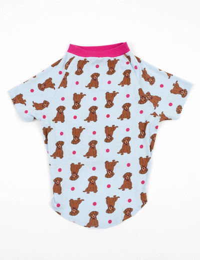 Big Dog Puppy Print Pajamas