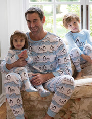 Mens Two Piece Animal Pajamas