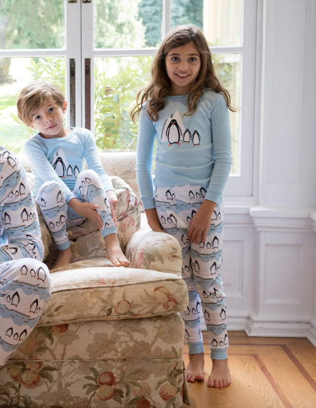 Kids Penguin Cotton Pajamas