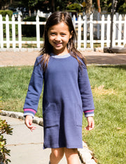 Girls Sweatshirt Tunic Dress