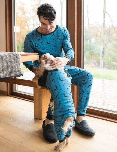 Mens Moon Pajamas