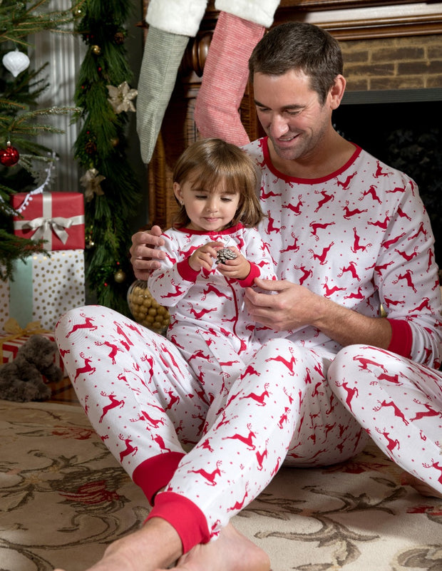 Baby Footed Christmas Pajamas