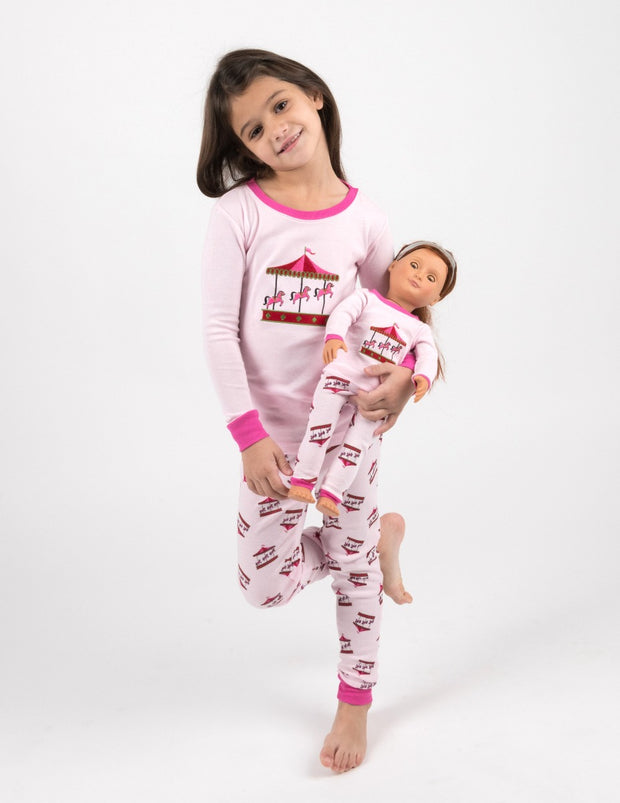 Matching Girl & Doll Cotton Pajamas