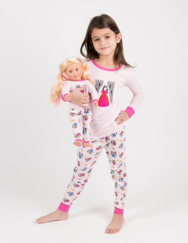 Matching Girl & Doll Girls Pajamas