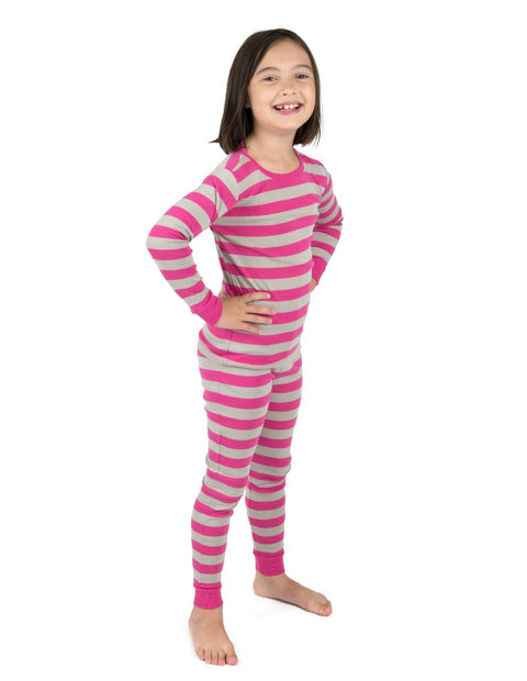 Pink Striped Pajamas