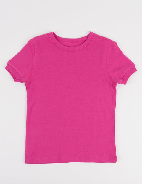 Short Sleeve Cotton T-Shirt Colors