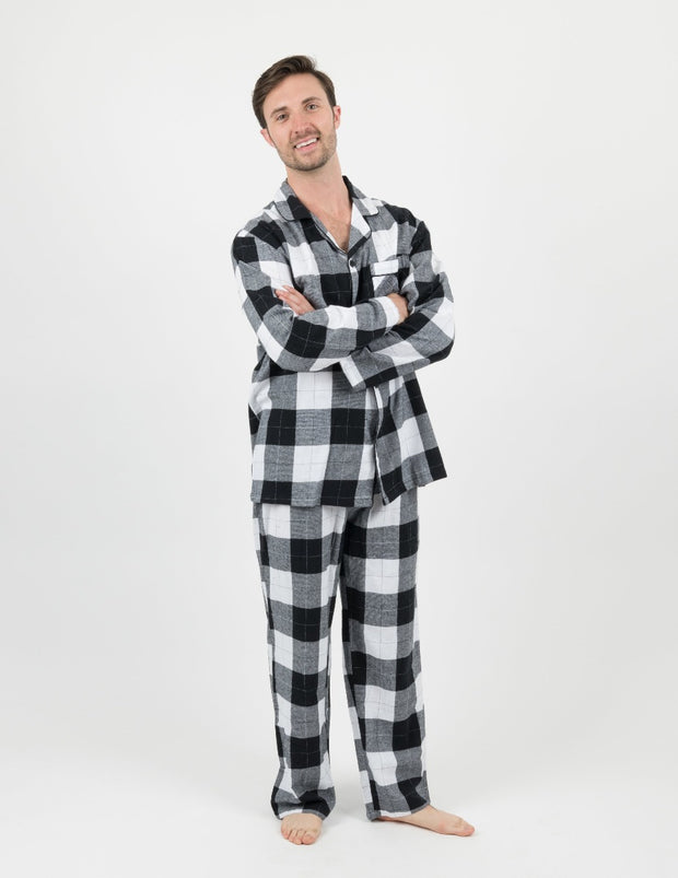 Flannel Pajamas Mens