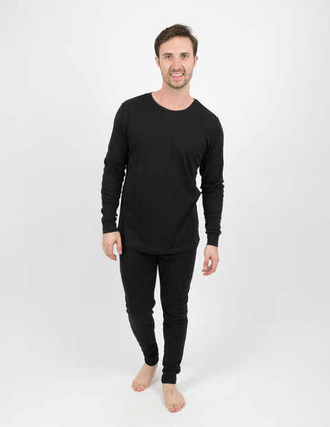 Mens Solid Color Pajamas