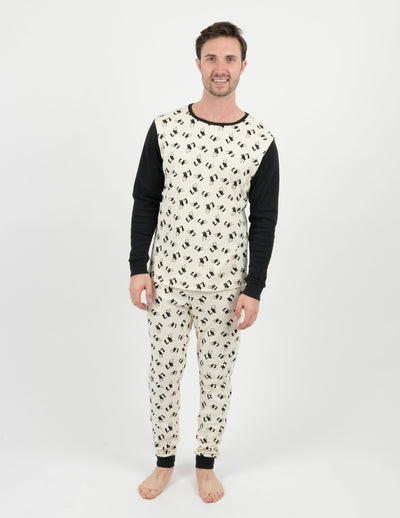 Mens Panda Pajamas