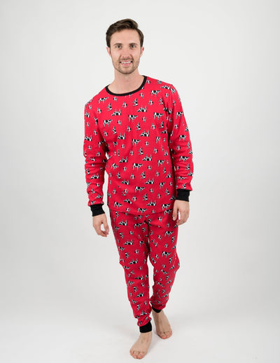 Mens Cows Pajamas