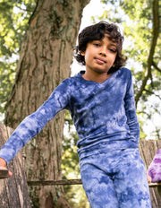 Kids Mix Dye Cotton Pajamas