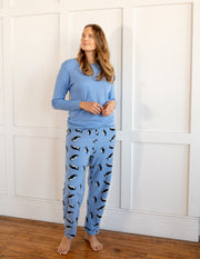 Womens Fleece Penguin Set