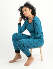 Womens Moon Pajamas
