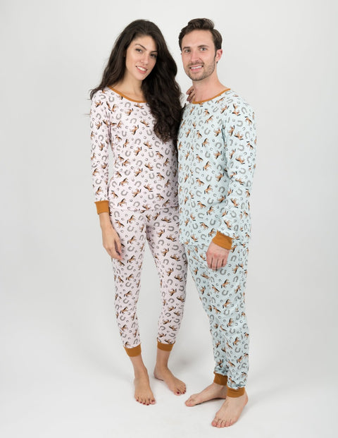 Horse Women's Cotton Pajamas