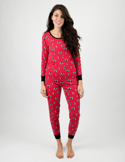 Womens Cows Pajamas