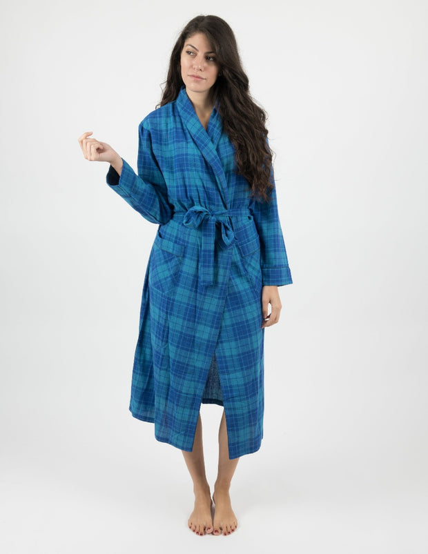 Womens Flannel Robe