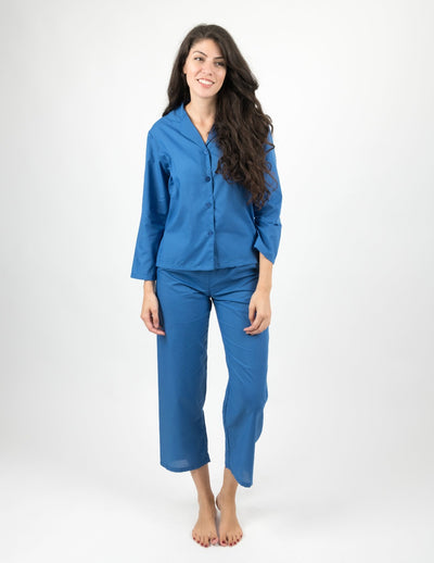 Womens Clearance Poly Cotton Pajamas