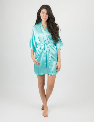 Womens Clearance Satin Robes
