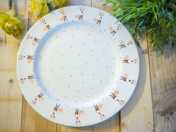 frankie fox large dinner plate