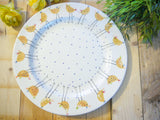 cheryl the cheeky chicken large dinner plate