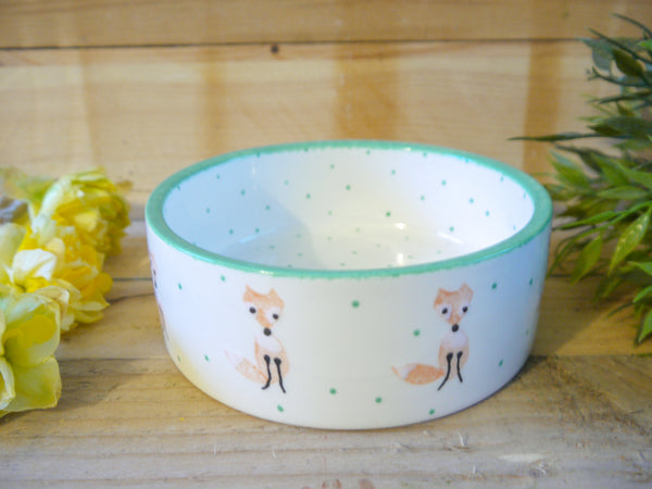 frankie fox small pet bowl