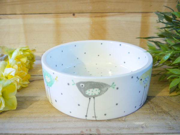 rita retro chicken small pet bowl
