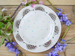 hector hedgehog tea plate