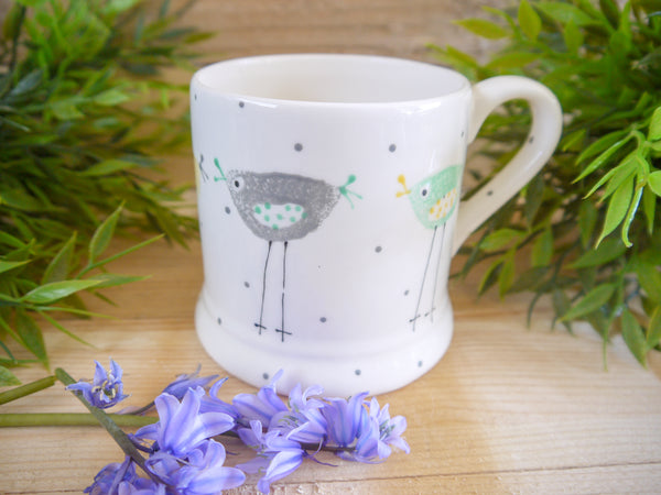 rita retro chicken mummy mug