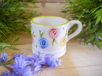 country cottage roses mini mug