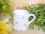 starburst grey kids mug