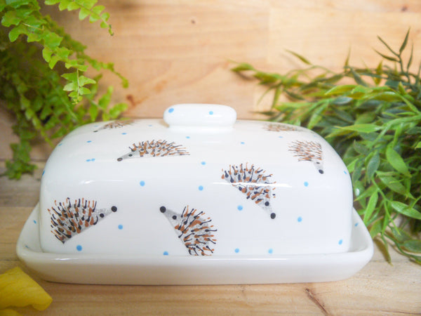 hector hedgehog butter dish