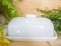 oh starry night butter dish