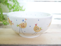 cheryl the cheeky chicken cereal bowl