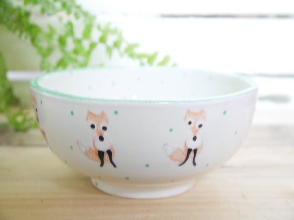 frankie fox cereal bowl