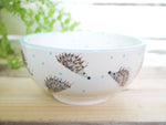 hector hedgehog cereal bowl