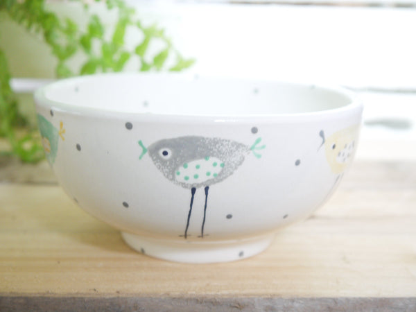 rita retro chicken cereal bowl