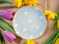 oh starry night cake plate