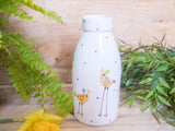 cheryl the cheeky chicken milk bottle vase