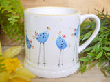barney blue chicken daddy mug