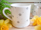 starburst grey daddy mug