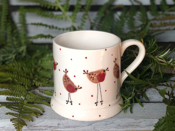 rupert the robin daddy mug
