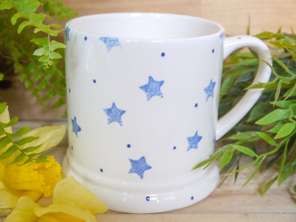 starburst blue daddy mug