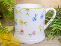 country cottage roses daddy mug