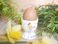 cheryl the cheeky chicken egg cup