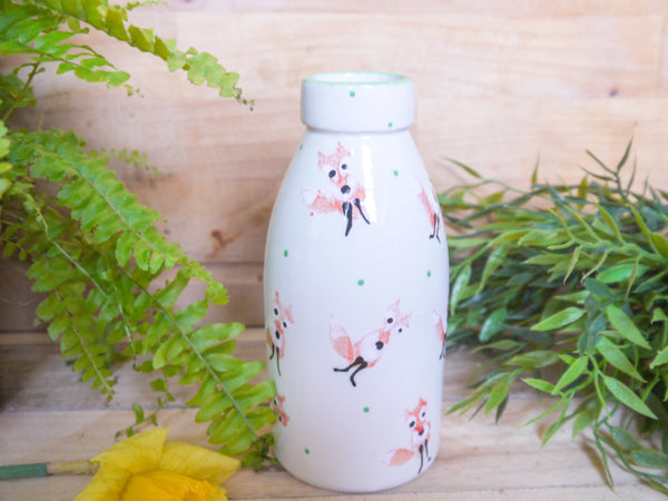 frankie fox milk bottle vase